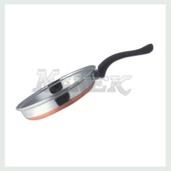 Botorm fry pan stainless steel fry pan with coopper bottom fry pan